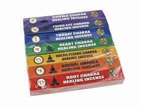 Благовония Тибетские. Набор 7 Чакр (7 Chakras) / 7 boxes