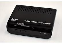 Ресивер ТВ  цифровой T2 BBK SMP022HDT2