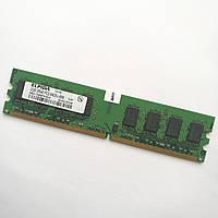 Оперативная память Elpida DDR2 2Gb 800MHz PC2 6400U CL6 (EBE21UE8AEFA-8G-E) Б/У
