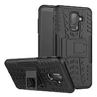 Чехол Armor Case для Samsung J810 Galaxy J8 2018 Черный
