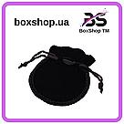 Мешочек Бархат черный 7*6 см, фото 2