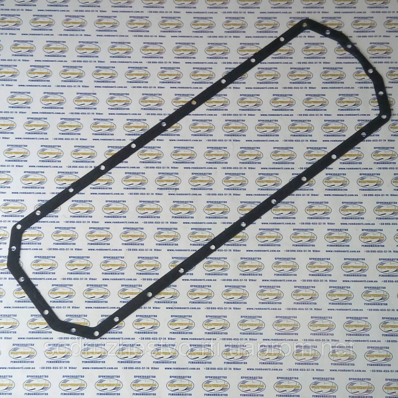 Прокладка поддона Д-260 МТЗ цельный (260-100 9002) (паронит-1,5 мм)