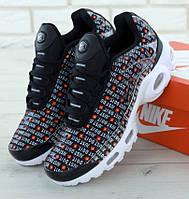 "Мужские кроссовки Nike Air Max TN Plus ""Just Do It"". Живое фото (Реплика ААА+), фото 1"