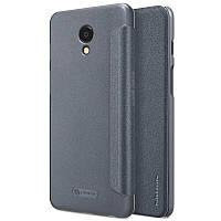 Кожаный чехол (книжка) Nillkin Sparkle Series для смартфона Meizu M6s (23279_4)