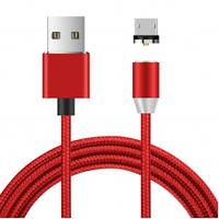 Магнітний кабель Ninja USB 2.0/Micro, 1m, 2А, Red, Blister-Box