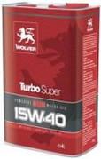 Моторное масло Wolver Turbo Super 15W-40, API CI-4/SL(4л)