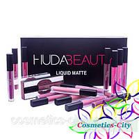 Набор жидких матовых помад Huda Beauty Liquid Matte Full Collection, фото 1