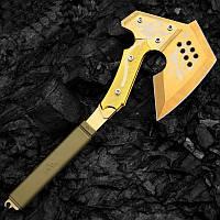 Топор лесорубочный SOG Золото Тактический боевой топор томагавк. топор армейский - охотничий. Острое лезвие.