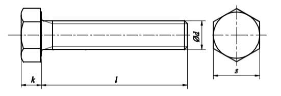 """Болт DIN 933 купить - """"Крепсила"""""""