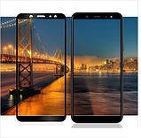 Стекло защитное для Samsung Galaxy A6 Plus (2018) Black, фото 4