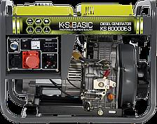 Дизельная электростанция K&S BASIC KS 8000 DE-3 (3ф, 6,5 кВт)