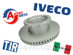 Тормозной диск Iveco Stralis,Trakker, Eurocargo, Eurotech