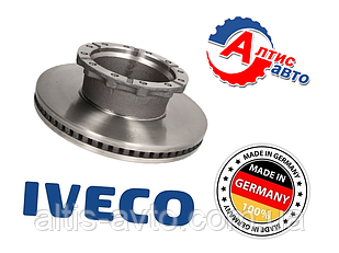 Тормозной диск Iveco EuroCargo, Stralis, Trakker тормозная система Knorr SB/SN7