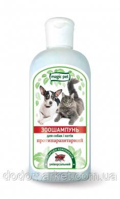 Шампунь от паразитов для кошек Мэджик Пет 200 мл