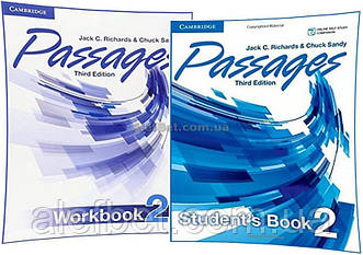 Английский язык / Passages / Student's+Workbook. Учебник+Тетрадь (комплект), 2 / Cambridge