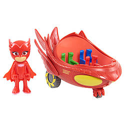 Игровой набор - PJ Masks Vehicle. Owlette and Owl Glider. (Герои в масках. Алетт и Совиный планер)