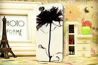Чехол для iPhone 5 Черная роза