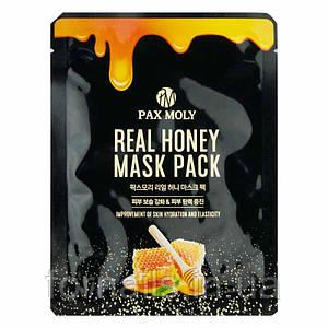 Pax Moly Real Honey Mask, Тканевая маска с экстрактом меда