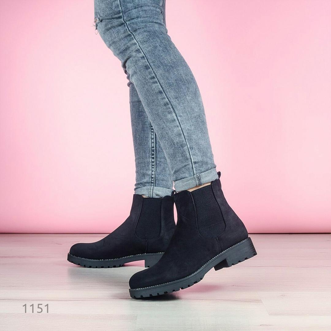 Ботинки женские челси 1151
