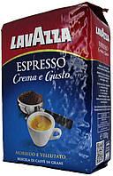 Кофе в зернах Lavazza CREMA GUSTO Espresso 1кг.