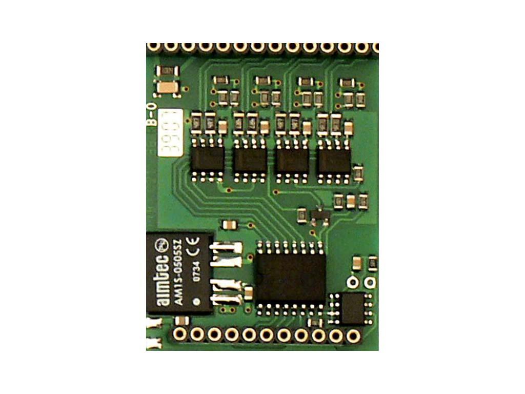 Мезонинный модуль MR-0124 для коммуникационного интерфейса RS-422