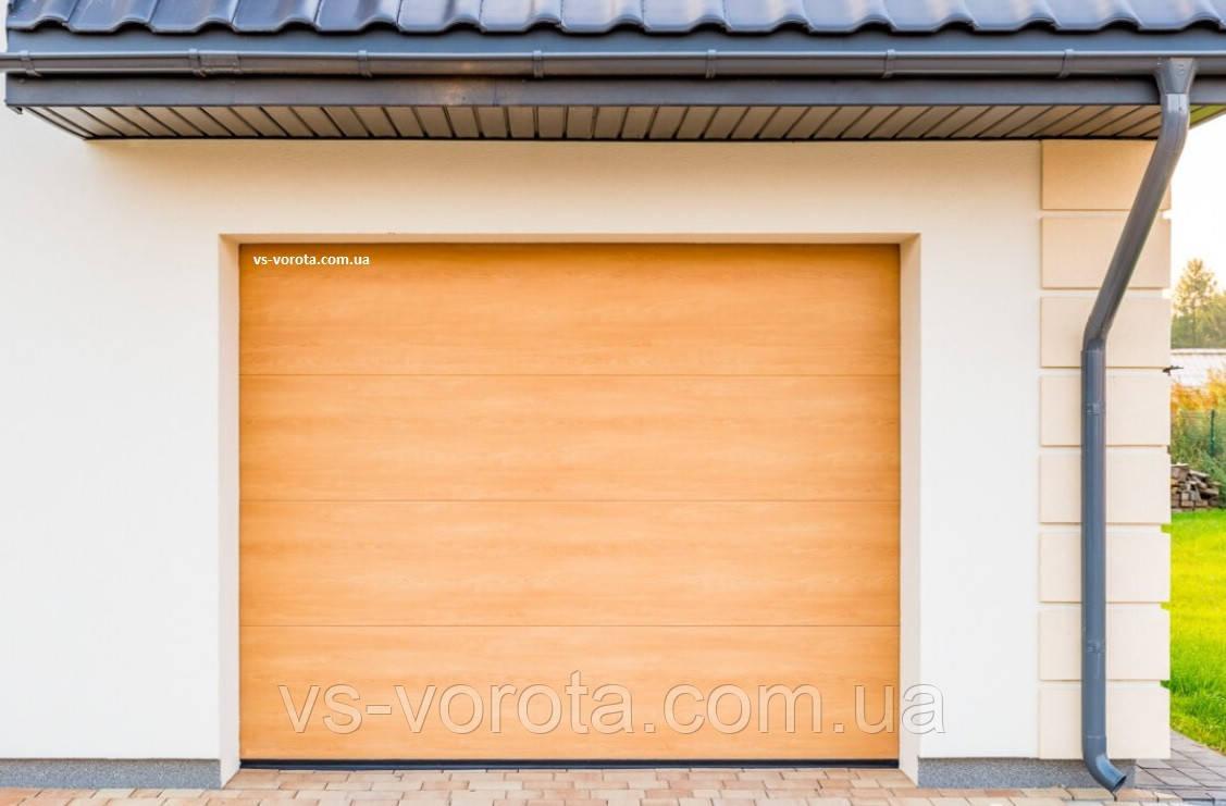 Ворота CLASSIC размер 3000х2200 мм - ALUTECH Белоруссия, гаражные секционные