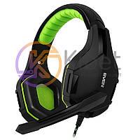 Гарнитура Sven AP-G852MV Black/Green, Mini jack (3.5 мм) 4pin, накладные, адаптер 2x3,5 мм (3 pin), микрофон, кабель 1.2+1 м