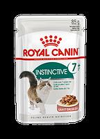 Влажный корм (Роял Канин)  Royal Canin Instinctive +7 в соусе Упаковка 12 шт