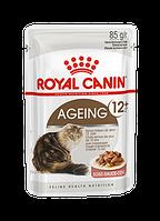 Влажный корм (Роял Канин)  Royal Canin Ageing +12 в соусе Упаковка 12 шт