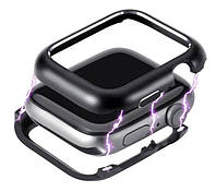 Металлический магнитный корпус Primo для Apple Watch 38 mm - Black