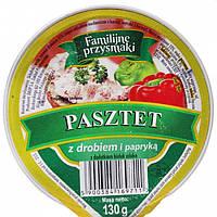 Паштет Pasztet z drobiem i papryka (курица и паприка), 130г , фото 1