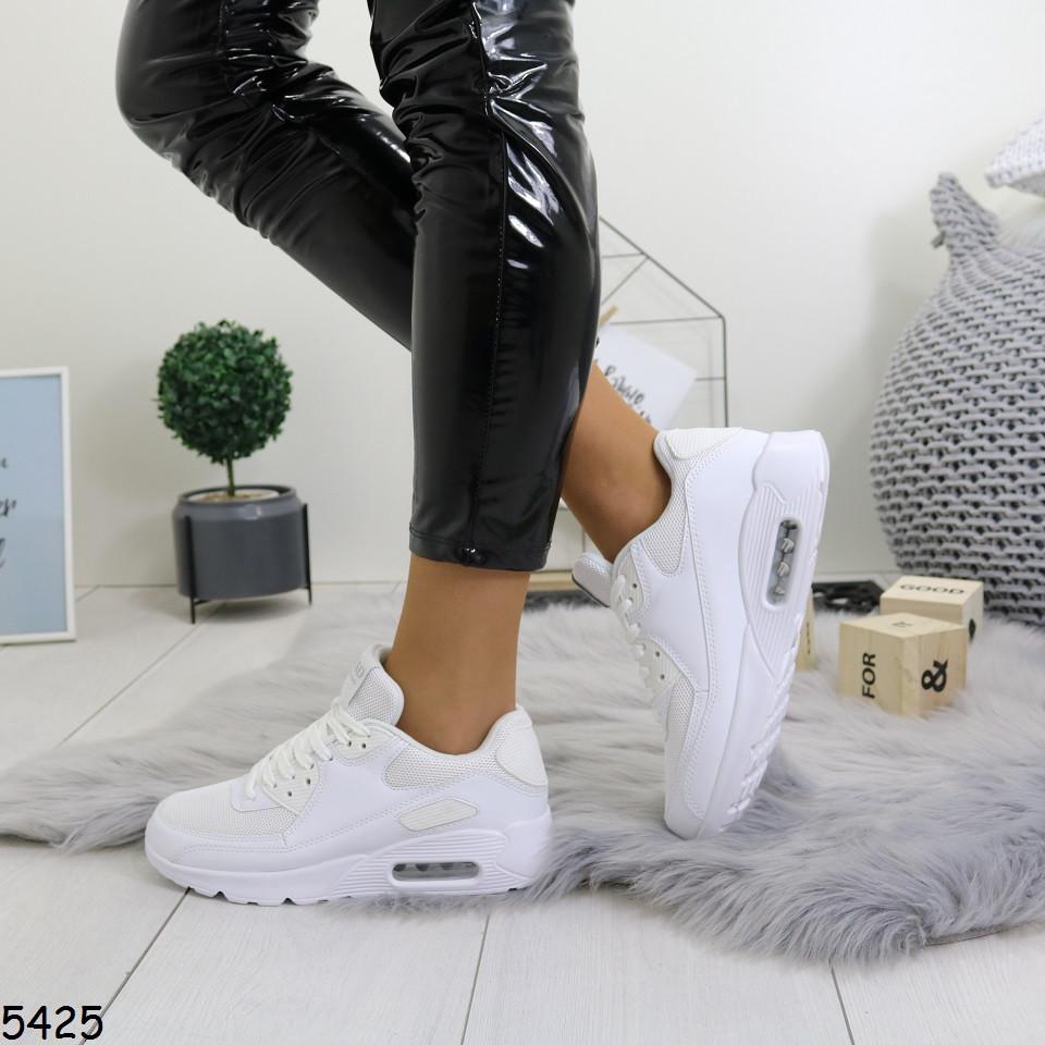 Женские белые кроссовки 5425