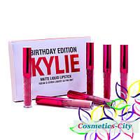 Набор помад Kylie Birthday Edition Matte Liquid Lipstick