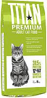 Сухой корм Chicopee (Чикопи) Titan Premium Adult Cat 15 кг для взрослых кошек и котов с мясом птицы