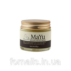 Secret Key MAYU Healing Facial Cream, Крем с конским маслом, 70 грамм