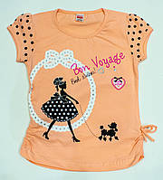 Модная футболка на девочку  рост 122 см, фото 1