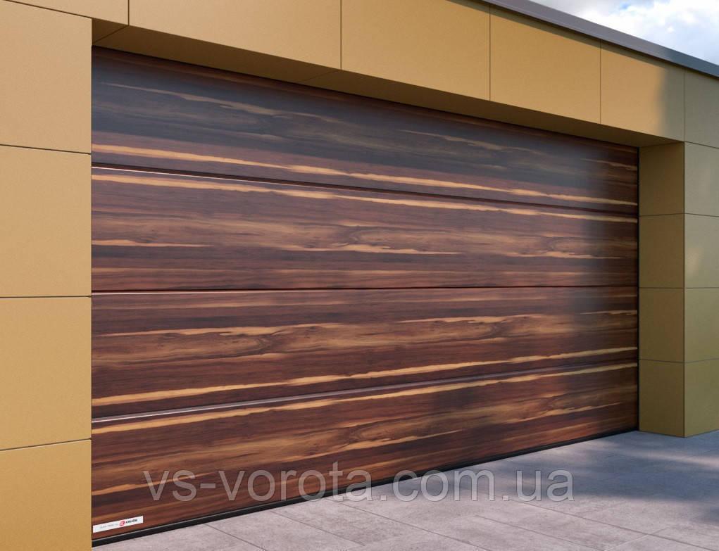 Ворота CLASSIC размер 3600х2200 мм - ALUTECH Белоруссия, гаражные секционные