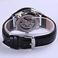 Мужские Механические Наручные Часы Скелетон с Автоподзаводом, фото 3