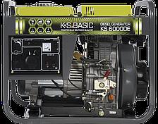 Дизельная электростанция K&S BASIC KS 6000 DE (6кВт)