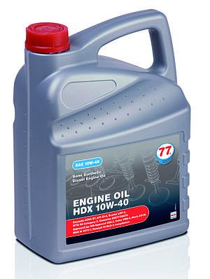 ENGINE OIL HDX 10W-40 (канистра 5 л) полусинтетическое