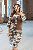 Женское модное платье ФФ710(бат), фото 1