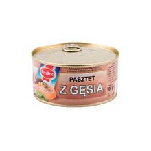 Паштет гусинный Evra Meat Pasztet z gesia, 300г