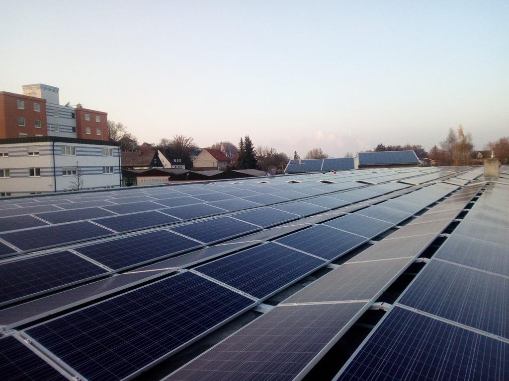 Сетевая СЭС 204,8 кВт, Германия, Бургау