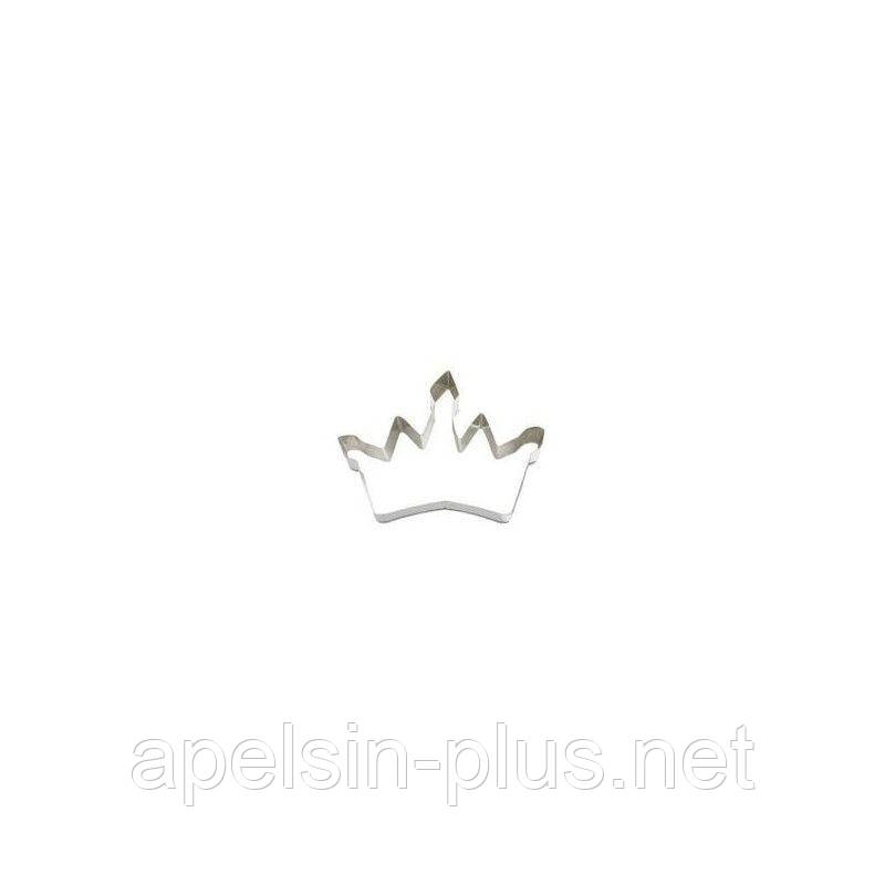 """Каттер кондитерский для пряников и имбирного печенья """"Корона"""" 12,0 см 8,7 см"""