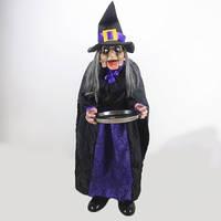 Баба Яга жебрак, декорація на Хеллоуїн, Оригінальний Сувенір Лялька Баба-Яга Жебрак Прикол