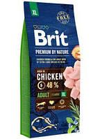 Brit Premium Dog Adult XL 15 kg Полнорационный корм для взрослых собак гигантских пород.