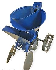 Картофелесажалка ксм-3 (expert) с бункером для посадки чеснока и лука и внесения удобрений Агромарка, фото 2