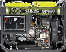 Дизельная электростанция K&S BASIC KS 6000 D (5,5 кВт)