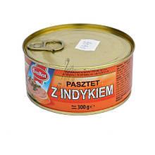 Паштет с индюшатины Evra Meat Pasztet z indykiem, 300г