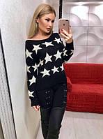 Женский модный свитер ФФ417, фото 1